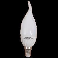 5 Watt LED E14 Flame Bulb 3000k Photo
