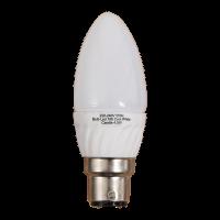 5 Watt LED B22 Candle Bulb 4000k Photo