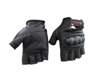 Rotracc Leather fingerless Gloves Photo