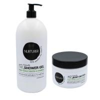 Nurturer - 2in1 Shower Gel 1L & Body Butter Combo 250ml Photo