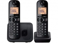 Panasonic KX-TGC212 Digital Cordless Phone with 2 Handsets Photo