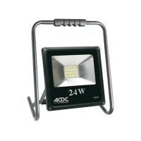 ACDC 230V DIE Cast Warm White ALU. Floodlight 24W - ACDC Dynamics Photo