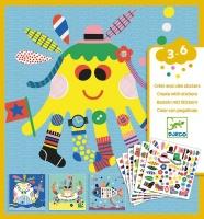 Djeco Create with Stickers - Sea Creatures Photo