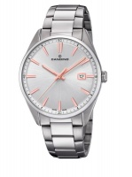 Candino Swiss Made Mens Stainless Steel Watch - Classic Timeless Collection Photo