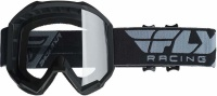 Fly Racing Fly Kids Focus Black/Clear Goggle Photo