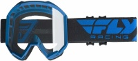 Fly Racing Fly Kids Focus Blue/Clear Goggle Photo