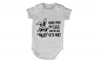 Easter - Hand Over the Eggs! - Baby Grow Photo