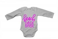 Beach Babe - Baby Grow Photo