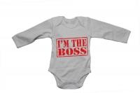 I'm the BOSS - Baby Grow Photo