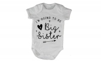 I'm Going to be a Sister - Baby Grow Photo