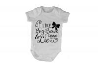 I Like Big Bows and I Cannot Lie - Baby Grow Photo