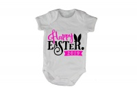 Happy Easter 2019 - Pink - Baby Grow Photo