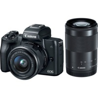Canon EOS M50 Mirrorless Twin Lens Value Bundle Photo