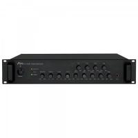Aplus AP-4A120 Amplifier 120W 100V Pre Mixer Adjustable Volume 4 Zones Photo