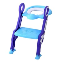 Gggles Padded Toilet Ladder Chair - Purple Photo