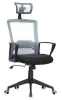 Oxford Ergonomic Office Chair - Black & Grey Photo