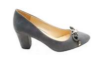 Lamara Anna 85 Block Heel Shoes - Grey Photo