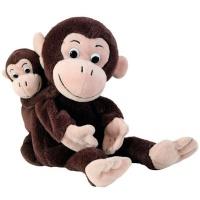 Beleduc Germany Mom & Baby Hand Puppets: Monkey - Cheeta & Bibi Photo