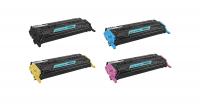 HP Q6000A # 124A/6001A/6002A/6003A Compatible Colour Toner - Multipack Photo