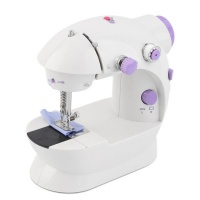 Mini Sewing Machine with Foot Pedal Photo