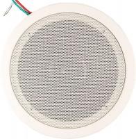 """Ceiling Speaker 5.25"""" 5W -2.5W-1.25W 100V Line Metal White Photo"""