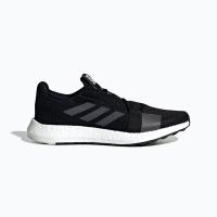 adidas Men's SenseBOOST GO Running Shoes - Black/Grey Photo