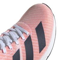 adidas Men's Adizero Boston 8 Running Shoes - White/Orange Photo
