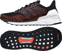adidas Men's Solar Boost ST 19 Running Shoes - Black/Orange Photo