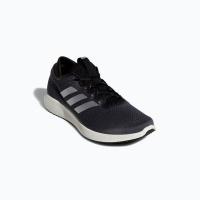 adidas Men's Edge Flex Running Shoes - Black/White Photo