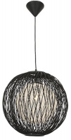 Bright Star Lighting Black Outer Bamboo Cover with Natural Inner Twine Photo
