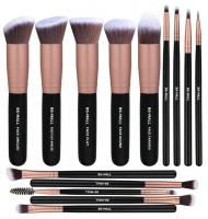 14 piecess Rose Gold Premium Makeup Brush Set Photo