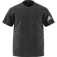 adidas Men's Freelift Sport Ultimate Heather V Neck Training T-Shirt Photo