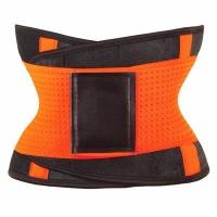 Mukatu Neoprene Waist Shaping and Trainer Belt - Orange Photo