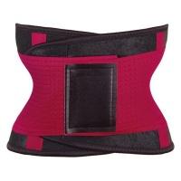 Mukatu Neoprene Waist Shaping and Trainer Belt - Red Photo