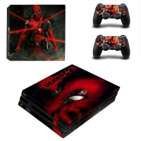 SKIN-NIT Decal Skin For PS4 Pro: Deadpool 2019 Photo