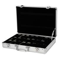 24 Grid Aluminum Alloy Watch Storage Box Photo