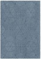 Rugs Original Chill - Blue Hexagon Design Photo