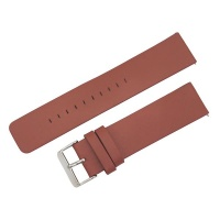 Brown Fitbit Versa Leather Strap Band One Size Fits All Photo