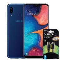 Samsung Galaxy A20 32GB - Blue Cellphone Photo