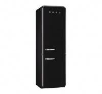 Smeg FAB32L Freestanding Fridge-Freezer - Black Photo