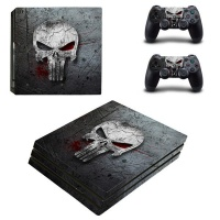 Skin-Nit Decal Skin for PS4 Pro: The Punisher 2019 Photo