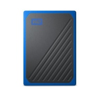 Western Digital My Passport GO Portable SSD 500GB Blue Trimming Photo