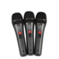 Wharfedale DM5.0S Super-Cardioid Dynamic Microphone 3-Pack Photo