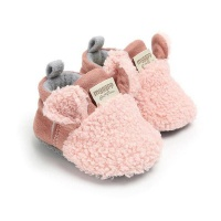 Comfortable First Walker Baby Sheep Ear Shoes Photo