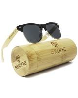 Skone Bondi Black UV400 Protection Bamboo Sunglasses Photo