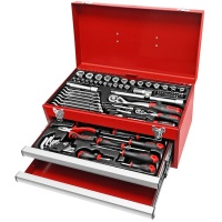 Ampro - 2 Drawer Chest Tool Set - 82 pieces 1/4 & 1/2?Drive Photo