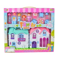 Play-set Doll House With Accessories Photo