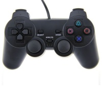 Fervour Double Vibration PS2 Wired Analog Controller 2 Photo