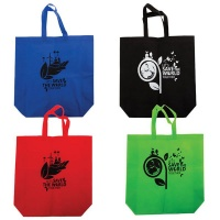 Bulk Pack x 4 Shopper Bag Non-Woven - 44x40x12cm Photo