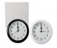 Bulk Pack x 2 Clock Wall Quartz Plastic Round 20cm Photo